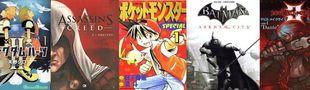 Cover Top BD adaptées de jeux vidéo