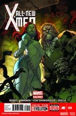 Couverture All-New X-Men 9. Issue 9