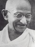 Photo Mohandas Karamchand Gandhi