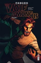 Couverture Fables - The Wolf Among Us, volume 1