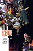 Couverture Le Silence de l'Aède - Black Science, tome 7