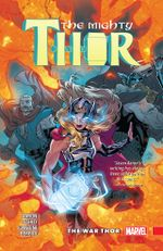 Couverture The War Thor - The Mighty Thor (2015), tome 4