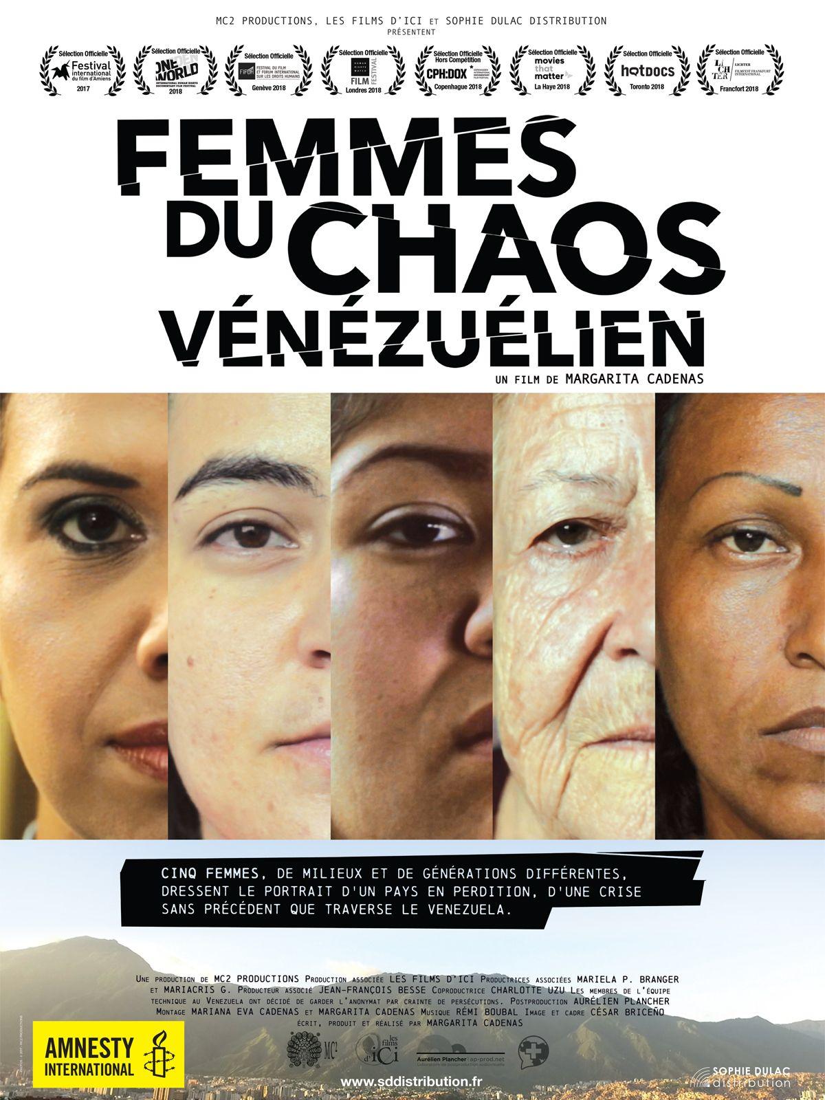 """Résultat de recherche d'images pour """"femmes du chaos vénézuélien affiche"""""""