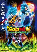 Affiche Dragon Ball Super : Broly