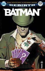 Couverture Batman Rebirth (DC Presse), tome 14