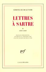 Couverture Lettres à Sartre, Tome 1 : 1930-1939