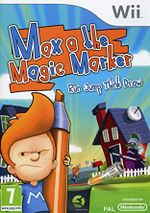 Jaquette Max and the Magic Marker