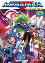 Couverture Megaman Gigamix, Tome 02