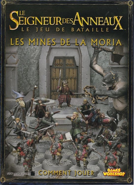Style magnifique revendeur profiter de prix discount Les Seigneur des Anneaux : Le Jeu de bataille, Les Mines de ...