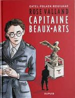 Couverture Rose Valland : Capitaine beaux-arts