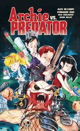Couverture Archie vs. Predator