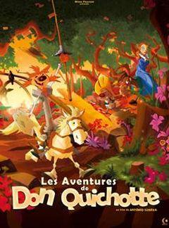 Affiche Les Aventures de Don Quichotte