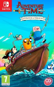 Jaquette Adventure Time : Les Pirates de la Terre de Ooo