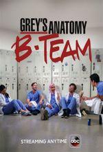 Affiche Grey's Anatomy: B-Team