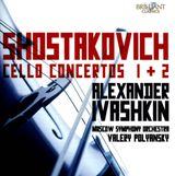 Pochette Cello Concertos 1 & 2