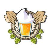 Affiche Une bière et Jivay