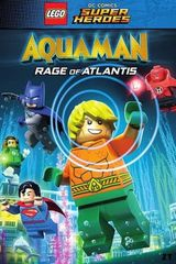 Affiche Lego DC Comics Super Heroes: Aquaman