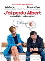 Affiche J'ai perdu Albert