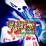 Jaquette Super Blackjack Battle II Turbo: The Card Warriors