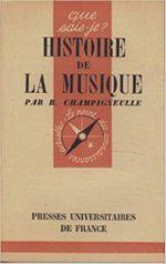 Couverture Histoire de la musique