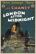 Affiche Londres après minuit