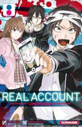 Couverture Real Account, Tome 8