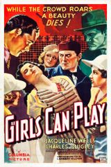 Affiche Girls Can Play