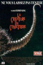 Affiche La Créature du cimetière