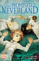 Couverture The Promised Neverland, tome 4