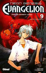 Couverture Fifth Children - Neon Genesis Evangelion, tome 9