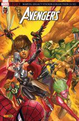 Couverture Mondes en Collisions - Marvel Legacy : Avengers, tome 2