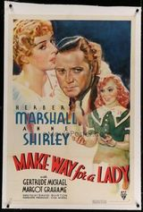 Affiche Make Way for a Lady