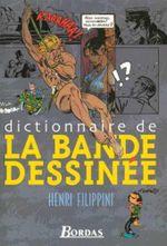 Couverture Dictionnaire de la bande dessinée