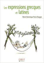 Couverture Les Expressions grecques et latines