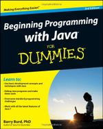 Couverture Beginning Programming with Java, 3rd edition