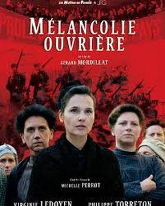 Affiche Mélancolie ouvrière