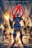 Couverture Le Monde des Avengers - Avengers (2013), tome 1