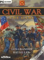 Jaquette Thee History Channel : Civil War - The Game