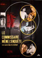 Affiche Le Commissaire mène l'enquête