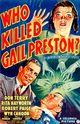 Affiche Who Killed Gail Preston?