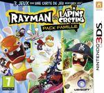 Jaquette Rayman et les Lapins Crétins - Pack Famille