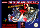 Jaquette Ninja Warriors : The New Generation
