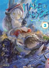 Couverture Made in Abyss, tome 3
