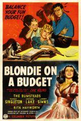 Affiche Blondie on a Budget