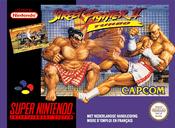 Jaquette Street Fighter II Turbo: Hyper Fighting