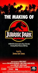 Affiche The making of Jurassic Park