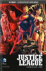 Couverture Justice League : La Guerre des Ligues (1ère partie) - DC Comics, Le Meilleur des Super-Héros, tome 78