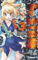 Couverture Dr Stone, tome 3