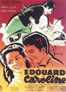 Affiche Édouard et Caroline