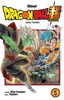 Couverture Dragon Ball Super, tome 5
